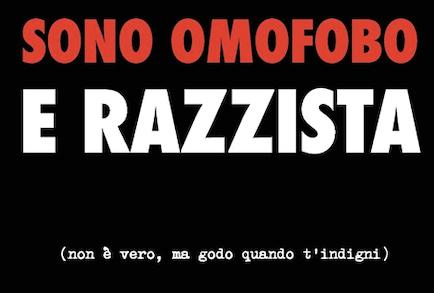 L'ironica quanto provocatoria omofobia di Gabriele Scarpelli