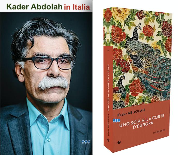 Kader Abdolah in tour in Italia