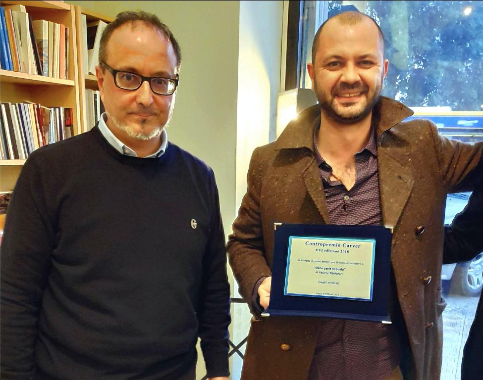 Contropremio Carver 2019 - Alla narrativa trionfa una nostra conoscenza: Valerio Vigliaturo