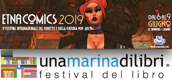 Una marina di libri ed Etna Comics invadono la Sicilia dal 6 a 9 giugno