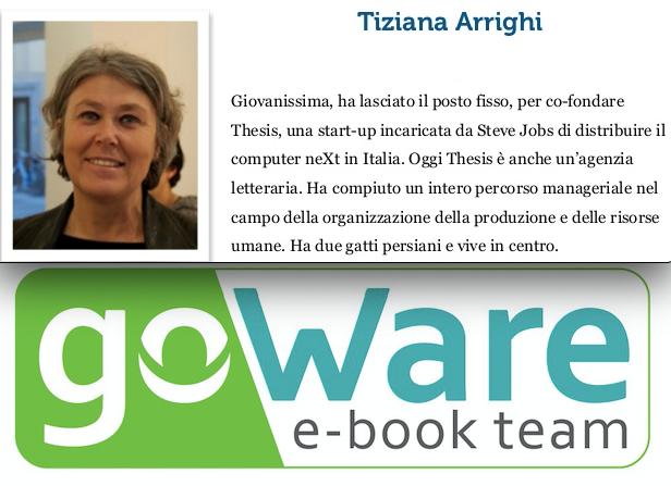 Lutto nell'editoria: è morta Tiziana Arrighi presidente di Thesis e goWare