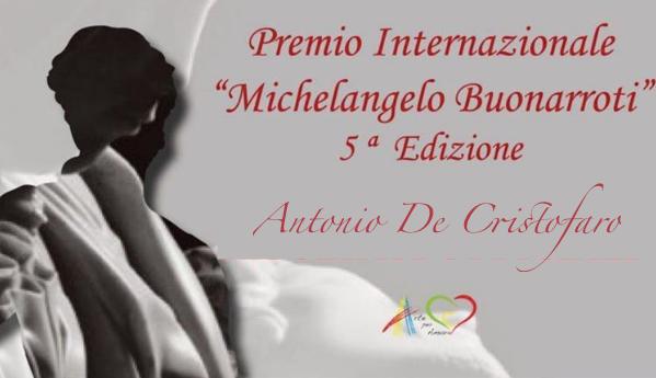 """Premio internazionale """"Michelangelo Buonarroti"""" decreta il vincitore"""
