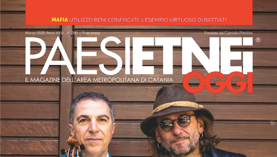 """Danilo Castiglione col suo """"Considerazioni"""" è il cartaceo del blog su Paesi Etnei Oggi n. 280 Marzo 2020"""