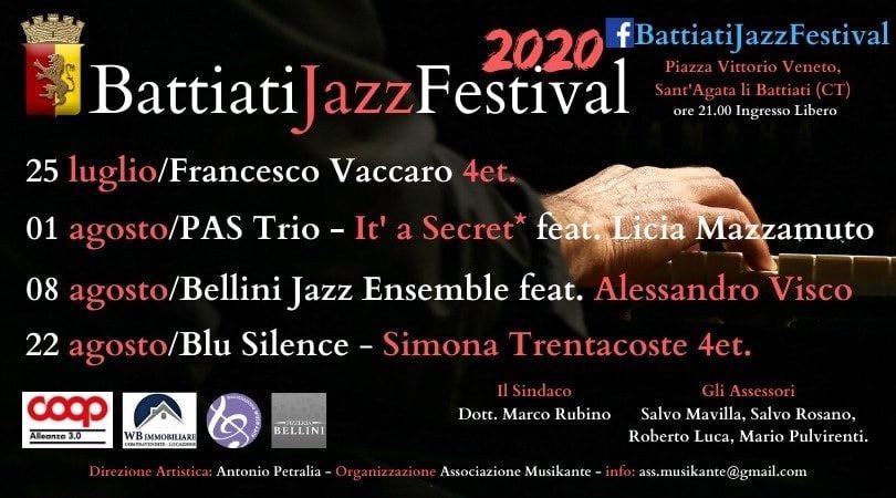Battiati Jazz Festival 2020 - V edizione - La parola al direttore artistico Antonio Petralia